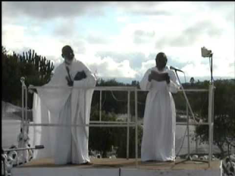 paul mwazha - The African Apostolic Church at Guvambwa in 2008, holy communion convocation. The Teaching, persuades the people to pay reverence to the Almighty God and sub...