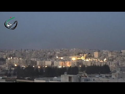 Συρία: Το Χαλέπι στις φλόγες του πολέμου