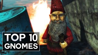 Sick o' the garden we be, take to the ocean we be!..  Here, I list my Top 10 Gnomes in Fallout 4.  All of these appear in the Far Harbor DLC.  Finding these may lead to weird deaths.  Consult a local gardener (?) for advice.  I also do other Top 5s, like Fallout 4 secrets.  There are secret locations, even secret enemies and quests to be found.  Which usually lead to weird theories, or your own fan theory.Since I'm on PC, I love the Fallout 4 new mods.  There are quests mods and companion mods that are outstanding.  They definitely make creating character builds, or finding rare encounters, or sad deaths, or even disturbing locations like these a lot more fun.Please like, comment, and subscribe, and if you want to talk, my other social media is below : )https://www.instagram.com/graenolfhttps://www.facebook.com/graenolf