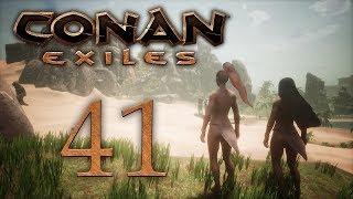 Conan Exiles — прохождение игры на русском — Гибельные курганы [#41] | PC