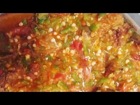 how to cook Okra/Okro soup A.K.A Ila alasepo