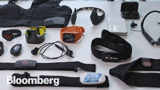 A lot of fitness gadgets coming to the market do so much more than they used to. Bloomberg Technology's Aki Ito tested 17 of them. And one stood out. It points to a future where you might not need a human trainer at all. Video by David Nicholson