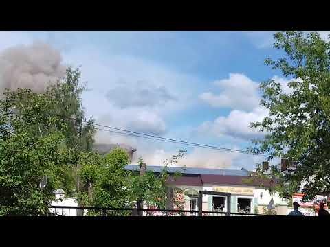 Снос элеватора в г. Иваново - DomaVideo.Ru