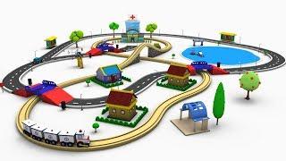 Video Train Cartoon - Trains for kids - Toy factory Cartoon - Cartoon - Train MP3, 3GP, MP4, WEBM, AVI, FLV Oktober 2017