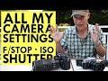 MASTER CAMERA SETTINGS: Aperture, Shutter Speed n ISO