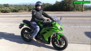 3. Kawasaki NINJA 650R Review - The Best Commuter & Starter Bike? What do U say?