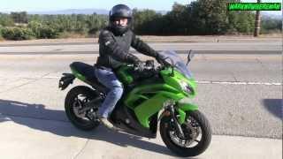 5. Kawasaki NINJA 650R Review - The Best Commuter & Starter Bike? What do U say?