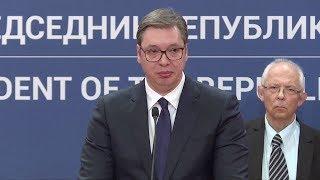 Stan zagrożenia w Serbii, prezydent ze łzami w oczach.