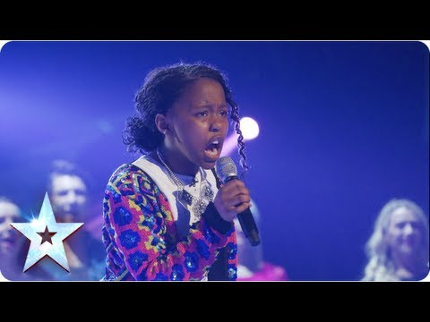 Singing - If you thought 11-year-old Asanda was a star in the semi-finals she takes it up a notch. Singing Beyonce's I was a boy the little lady proves she's hot on th...