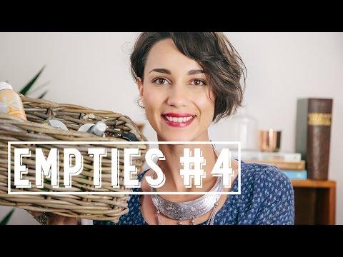 Empties #4 | Les produits terminés