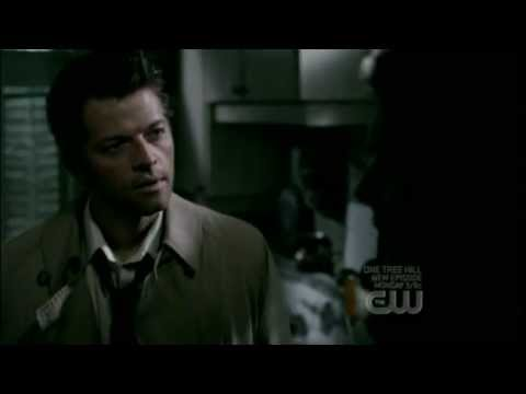 "Castiel in 4x02 - ""Angels weren't supposed to be dicks."""
