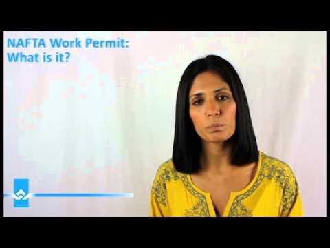 NAFTA Work Permit What Is It Video