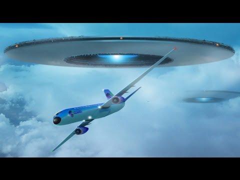 Alien Warning Message Live on TV in UK -