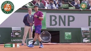 Shots of the day - Day 3 French Open 2015