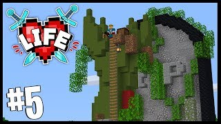 FIRST CUSTOMER IN THE SHOP!! (I ALSO DIED..)   Minecraft X Life SMP   #5