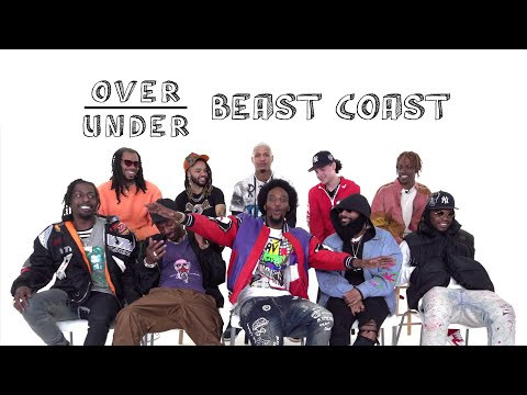 Beast Coast Rate Black Holes, K-Pop, And Chucky | Over/Under