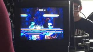 [Gameplay] can someone critique both the peach and the sheik? I'm the peach. We both play each other a ton, but I was playing like shit this match.