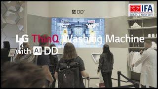 LG at IFA 2019 - LG ThinQ Washing Machine AI DD Game