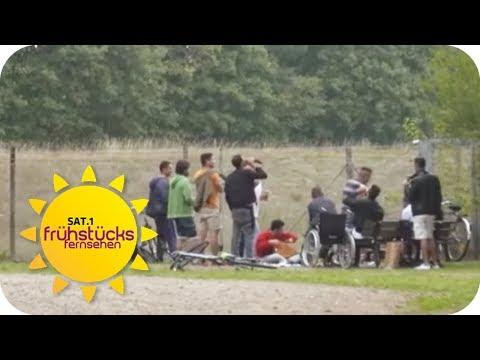 Boostedt (Schleswig-Holstein): 1.300 Flüchtlinge im ...