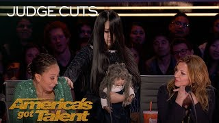 Video The Sacred Riana Summons A Terrifying Imaginary Friend - America's Got Talent 2018 MP3, 3GP, MP4, WEBM, AVI, FLV September 2018