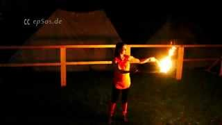 Free video about Fire Poi. This free video was created for you by http://epsos.de and can be used for free under the creative commons license with the attrib...