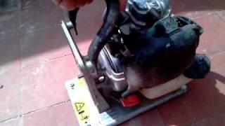 7. Honda GX25 WX10 Running
