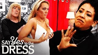 Bride Wants a Dress That Will Fit Over Her Breasts | Say Yes To The Dress UK