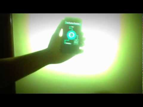 Video of Iron Reactor FlashLight