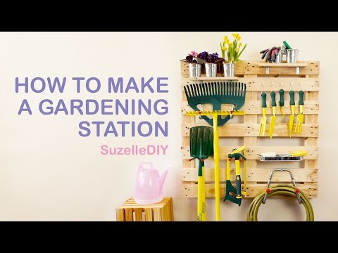 Video: Suzelle's DIY gardening station