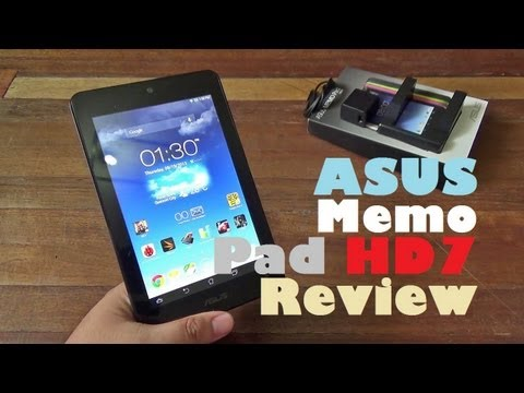 Asus Memo Pad HD7 Review - Quad-Core Tablet With 7