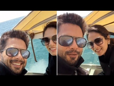 Shahid kapoor Shares A Video Of Mira Rajput On Vac