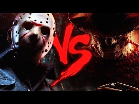 Freddy Krueger VS. Jason Voorhees | Duelo de Titãs (ESPECIAL de TERROR) (видео)