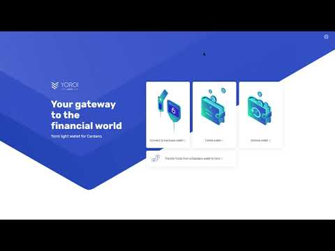Setting up your Yoroi wallet!