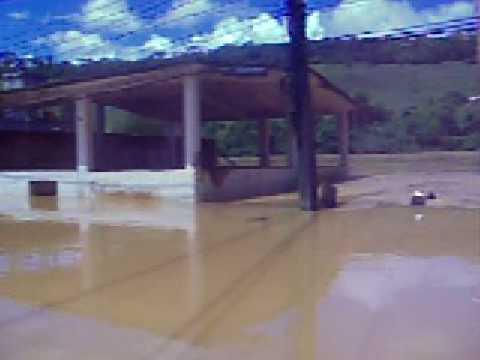 enchente 2008 em Laje do Muriaé/RJ