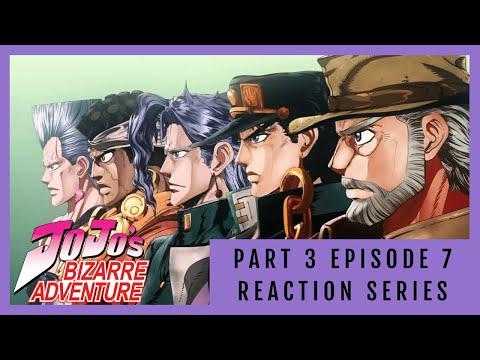 Errrr... The Stand User is Who?! | Episode 7 Stardust Crusaders | JoJo's Bizarre Adventure Reaction!