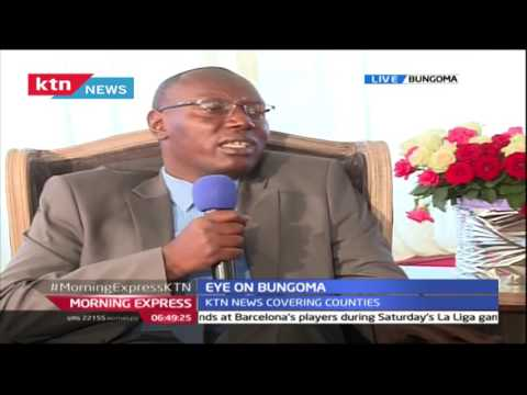 Morning Express: State of the Nation in Bungoma 27th October 2016