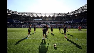 FC Barcelona Open Training session  at Red Bull Arena #BarçaUSTour