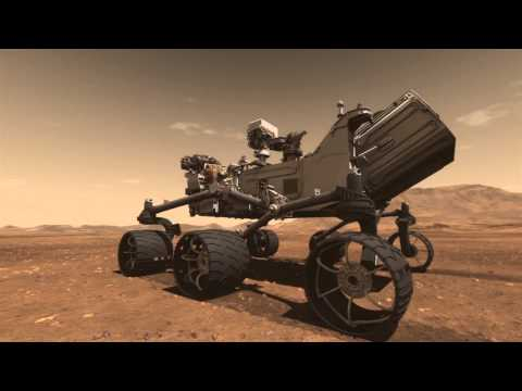 NASA Curiosity Mars Rover   Live Landing Event | Video
