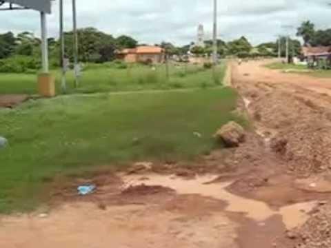 Antes e Depois (Praça do Peixe) em São Sebastião do Tocantins!