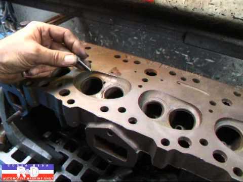 324 Oldsmobile Cracked Cylinder Head Repair