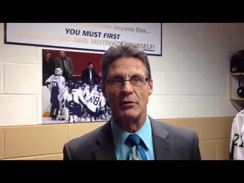Women's Hockey: Coach Collins Discusses 3-2 Loss to 6th-Ranked UW-River Falls