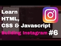 Download Video Learn HTML CSS and Javascript By Building Instagram #6 - Build Post info