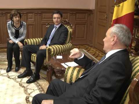 Președintele Nicolae Timofti a avut o întrevedere cu Kristian Vighenin, ministrul de Externe al Bulgariei
