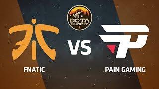 Fnatic против paiN Gaming, Вторая карта, DOTA Summit 9 LAN-Final