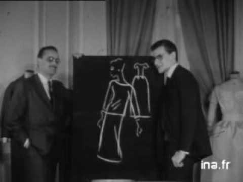 Yves Saint-Laurent - 1959 Interview