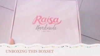 #UNBOXING Raisa Handmade Boxset 💁🏼