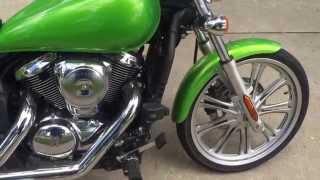 1. 2008 Kawasaki Vulcan 900 Custom