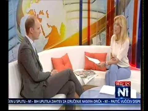 Балша Божовић у емисији Нови дан на ТВ Н1 (25.6.2015)