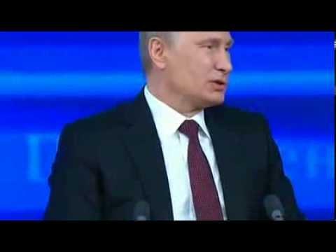 Пресс-конференция Путина 2013 год - Самое лучшее (видео)