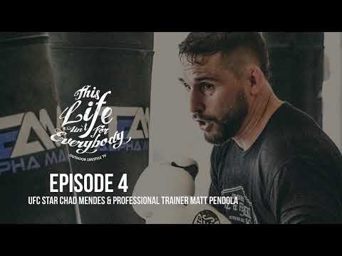 Podcast Episode 4 - UFC Star Chad Mendes & Professional Fitness Coach Matt Pendola